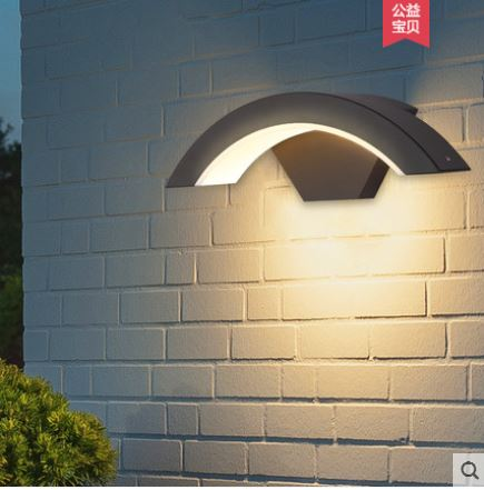Outdoor led waterproof outdoor wall lamp creative garden intelligent induction wall lamp balcony lamp door lampOutdoor led waterproof outdoor wall lamp creative garden intelligent induction wall lamp balcony lamp door lamp