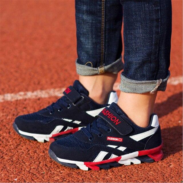 חדש 2019 ילדי נעלי בנות בני נעלי ספורט אופנה ילדי נעלי ספורט לנשימה נעלי ריצה נוח חיצוני נעלי 26-37