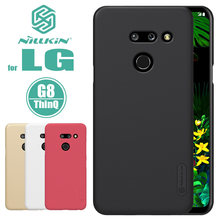 Nillkin voor LG G8 G7 ThinQ V30 Case Super Frosted Telefoon Geval Hard PC Cover Case voor LG V30 g6 Q7 G7 G8 ThinQ Nilkin Case(China)