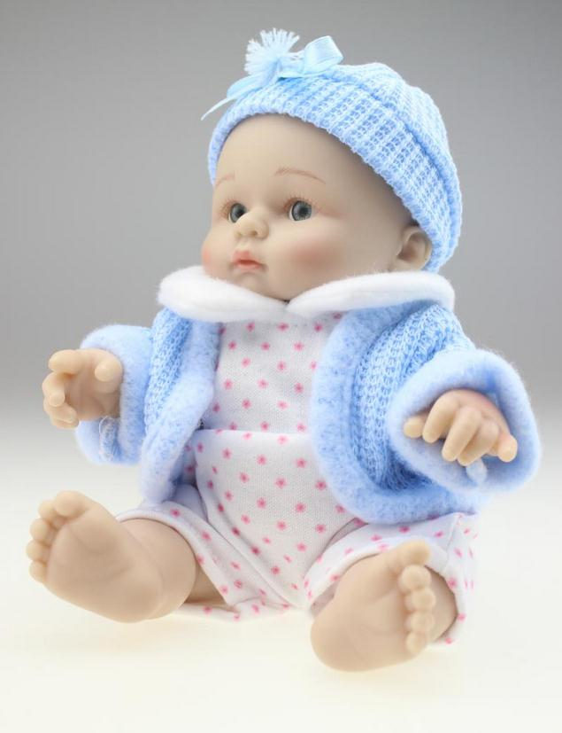 Reborn Doll Mini Childrenu0027s Toys Simulation Full Silicone Doll Model  Beautiful Baby Shower Gift Free Shipping In Dolls From Toys U0026 Hobbies On  Aliexpress.com ...
