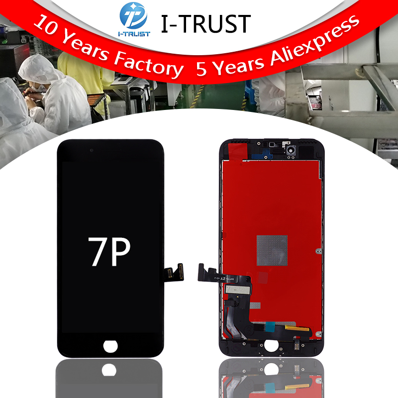 20PCS Grade A LCD For iPhone 7 Plus LCD Replacement Touch Screen Digitizer Assembly Display No