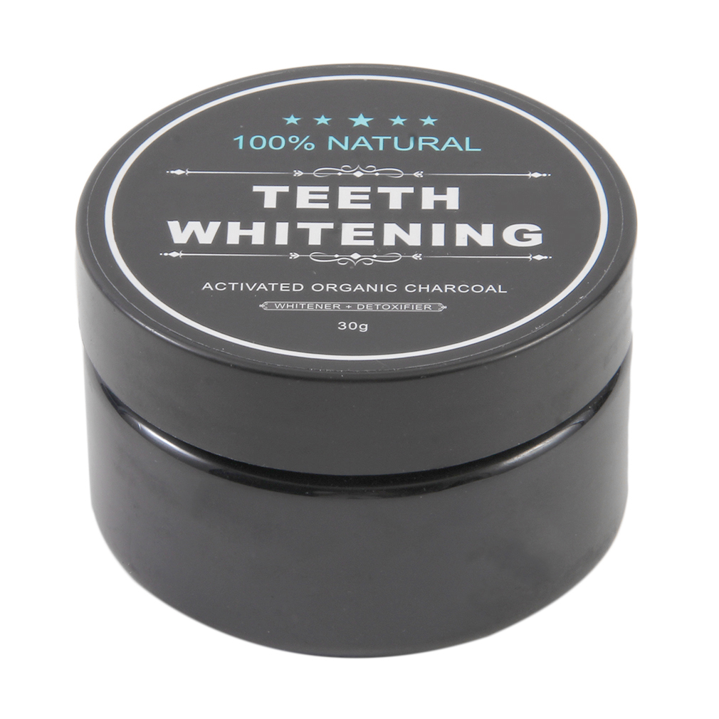 30g Teeth Whitening Cleaning Activated Charcoal Powder Natural Safe Tooth Whitener Bright White Teeth Dental Clean Oral Hygien