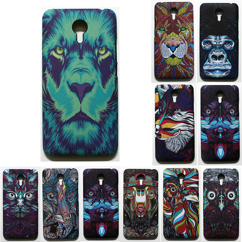 phone capa for meizu m2 note 3D cover Case for meizu m2 note colorful printing plastic hard Case coque with phone stent as gift