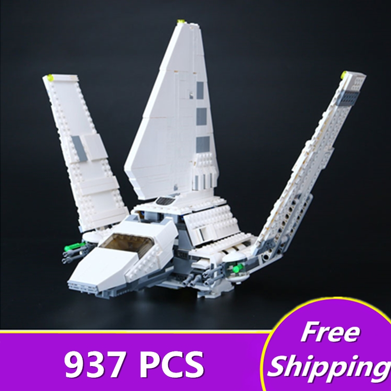 New LEPIN 05057 Star Series Wars Shuttle SelfLockingTydirium Building Blocks Bricks Assembled Educational toys Compatible 75094 lepin 05040 y attack starfighter wing building block assembled brick star series war toys compatible with 10134 educational gift
