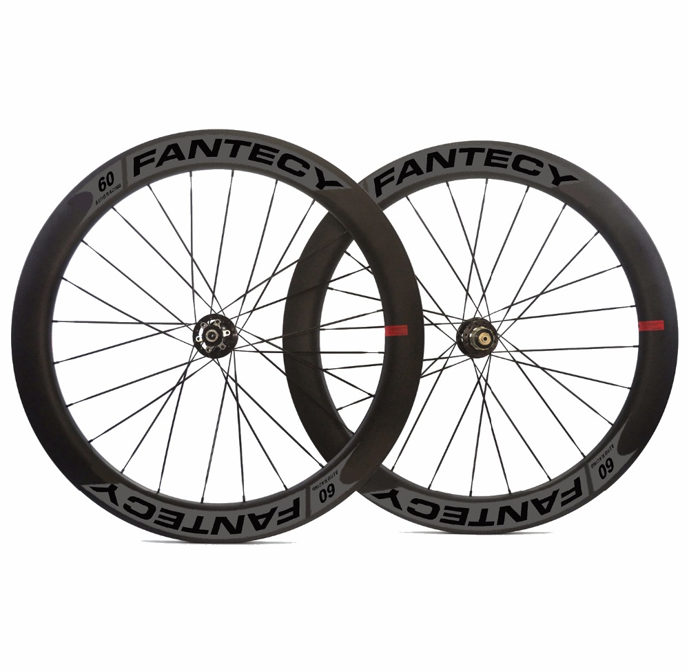 700C 60mm depth 25mm width disc brake road carbon wheels clincher/Tubular Disc Cyclocross carbon wheelset with Novatec hub