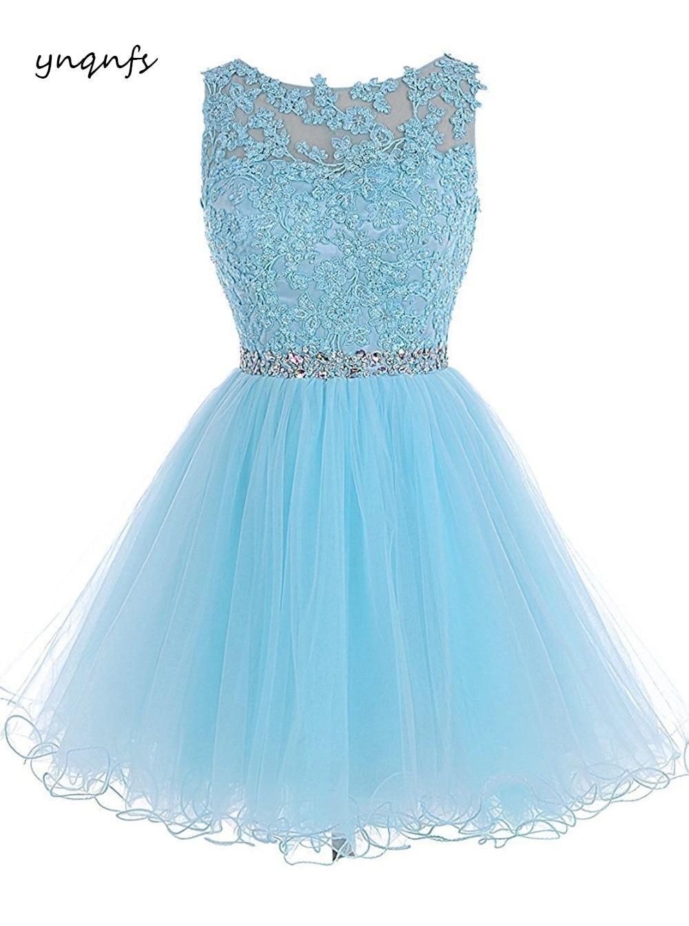 ynqnfs skirt short paragraph design multi-color increase dress elegant toast evening dress lace t554