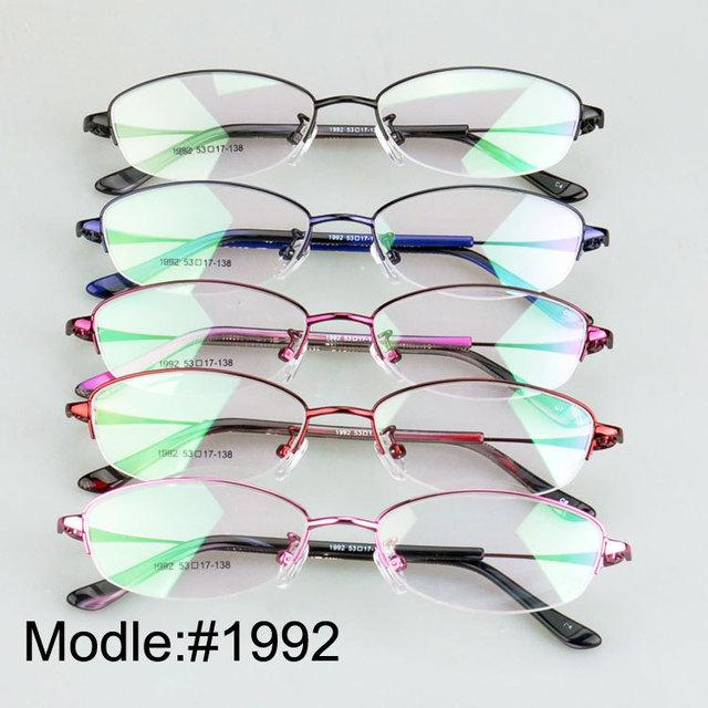 1992 senhoras metade rim óculos prescritpion óculos de miopia hipermetropia óculos armações