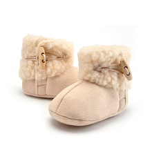 Winter Warm Baby Toddler Shoes With Cashmere Winter Baby Shoes Boots