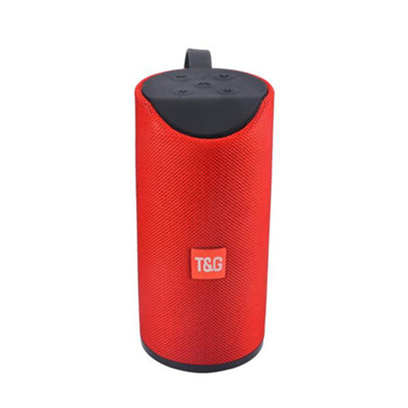 Bluetooth Speaker Sports Waterproof Portable Subwoofer column cloth cover fabric Wireless Column Box speakers with FM lordzmix (15)
