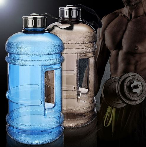 superbig22l large water mugs bottles outdoor sports gym half gallon fitness training camping running workout water bottle