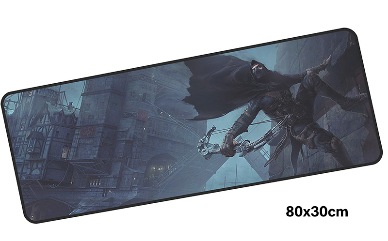 Assassins Creed mousepad gamer 800x300X3MM gaming mouse pad large Lucy notebook pc accessories laptop padmouse ergonomic mat