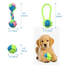 Cotton Dog Rope Toy Knot Puppy Chew Teething Toys