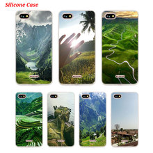 Silicone Phone Case mountain and clould for Xiaomi Redmi S2 Note 4 4X 5 5Pro 5A Plus 6 6A 7 Pro Cover