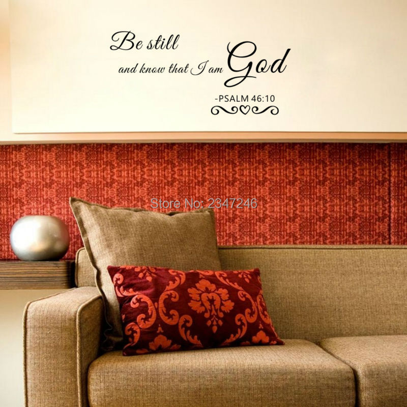 Us 3 47 13 Off Christian Penawaran Wall Stiker Diam Dan Tahu Bahwa Saya Am Gereja Tuhan Home Decals Removable Art Vinyl Living Room Dekorasi In Wall