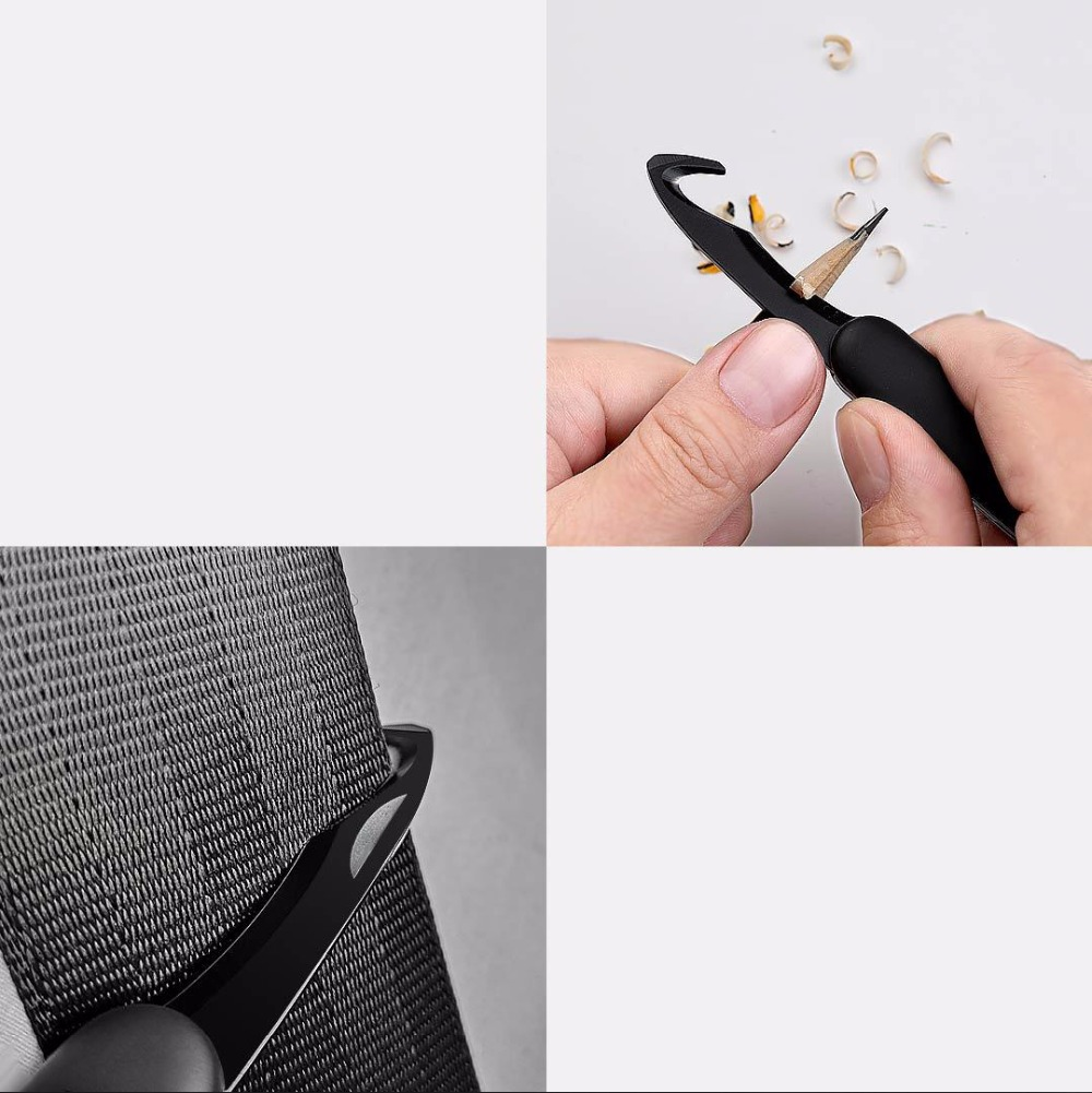 Xiaomi Huohou Mini Unpacking Knife Fold Fruit Knife cut tool Camp Tool Open Package outdoor survive clip camp sharp cutter (17)