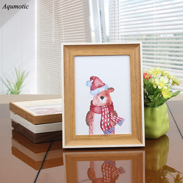 Aqumotic Photo Frame For Pictures Wall Hanging Certificate Dual Use Living Room Study Home Decorations