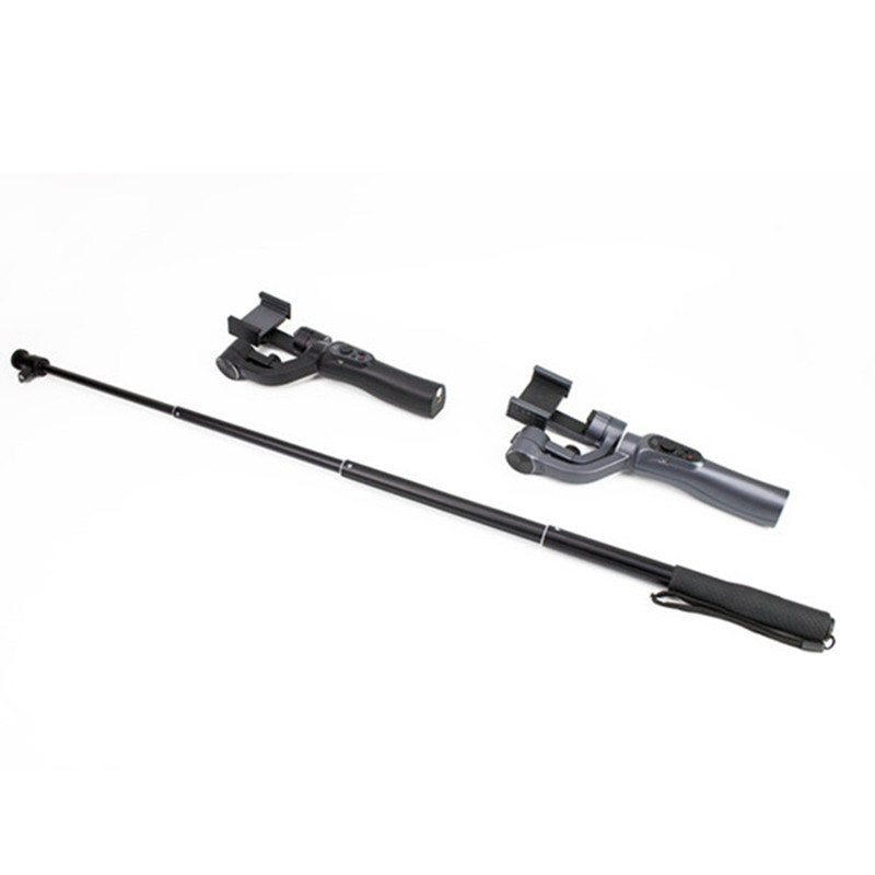 Aluminum Alloy Extension pole Bar Telescopic Rod for Zhiyun Smooth Q 3/4 SPG DJI Osmo mobile 1/2 Handheld Gimbal Accessories 15
