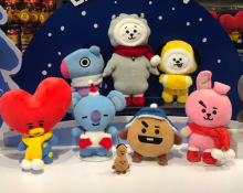 BTS BT21 Christmas Plushies (7 Models)