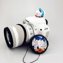 3D мультяшный фонарик для камеры горячий башмак 37 мм 40,5 мм 43 мм 46 мм 49 мм 52 мм 55 мм 58 мм крышка объектива для камеры Canon Nikon Fujifilm Sony
