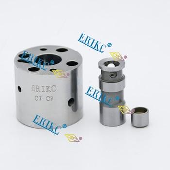 ERIKC Professional Test oil pressure increasing valve and Cat common rail injector spool valve C7 C9