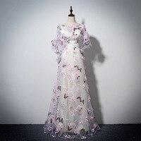 2018 Women Dresses Princess Elegant Floral Spring Summer Bandage Plus Big Size Vintage Evening Party Lace Club Women Bride Dress