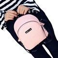 2016 моды серпантин маленькие женщины рюкзак кожа простой заклепки школьные сумки для девочек-подростков путешествия торговый леди рюкзаки