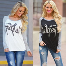 cf69ae4322ea4 tee shirt femme winter long sleeve tshirt women t shirt womens tops fashion 2016  poleras de
