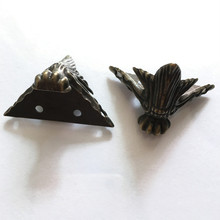 Corner-Protector Decorative-Feet Bronze Antique Brass Wood-Case Jewelry-Gift-Box Tone