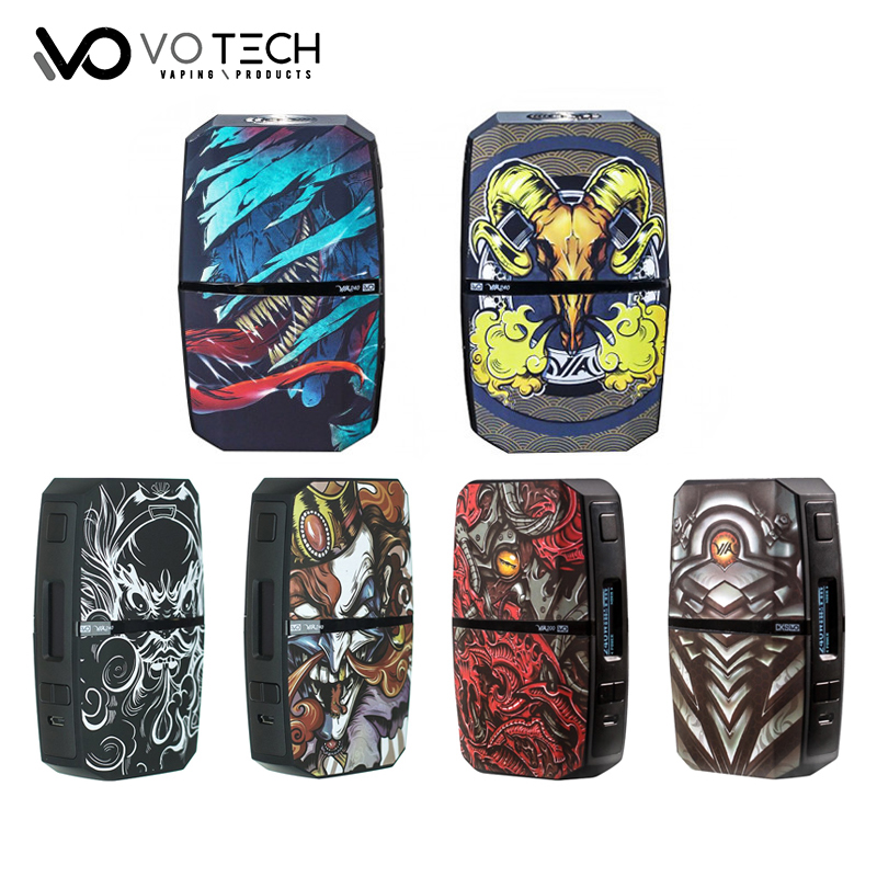 Original VO TECH VIA240 TC Box Vape Mod VO CHIPSET Powered By Dual 18650 battery 240W