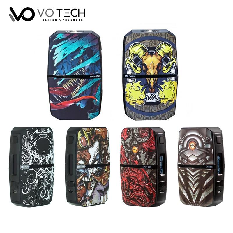 Original VO tecnología VIA240 TC caja Mod Vape VO CHIPSET alimentado por Dual 18650 batería 240 W Vape vaporizador de /derivación/temperatura del Asvape