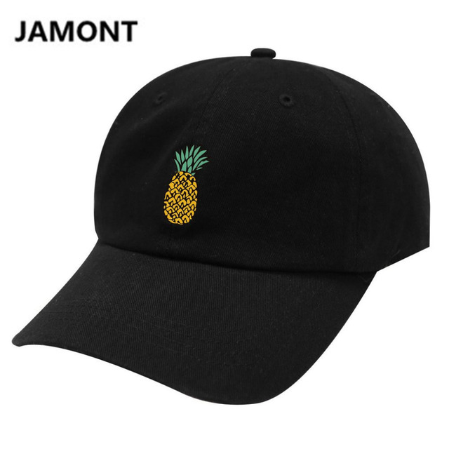 Pineapple Dad Hat men women Casual Baseball Cap Egg hat caps Fashion  universal Snapback hip hop 04be5329190