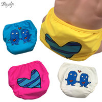 Baby Swimming Nappy Reusable Waterproof Swim Diaper Pool Pants For Boys Washable Leakproof Baby Girls Swimming