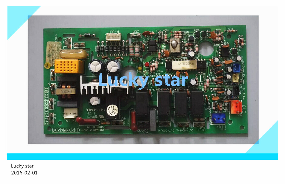 98% new for Gree Air conditioning computer board circuit board 30036072 W603L GRJW60-A good working все цены