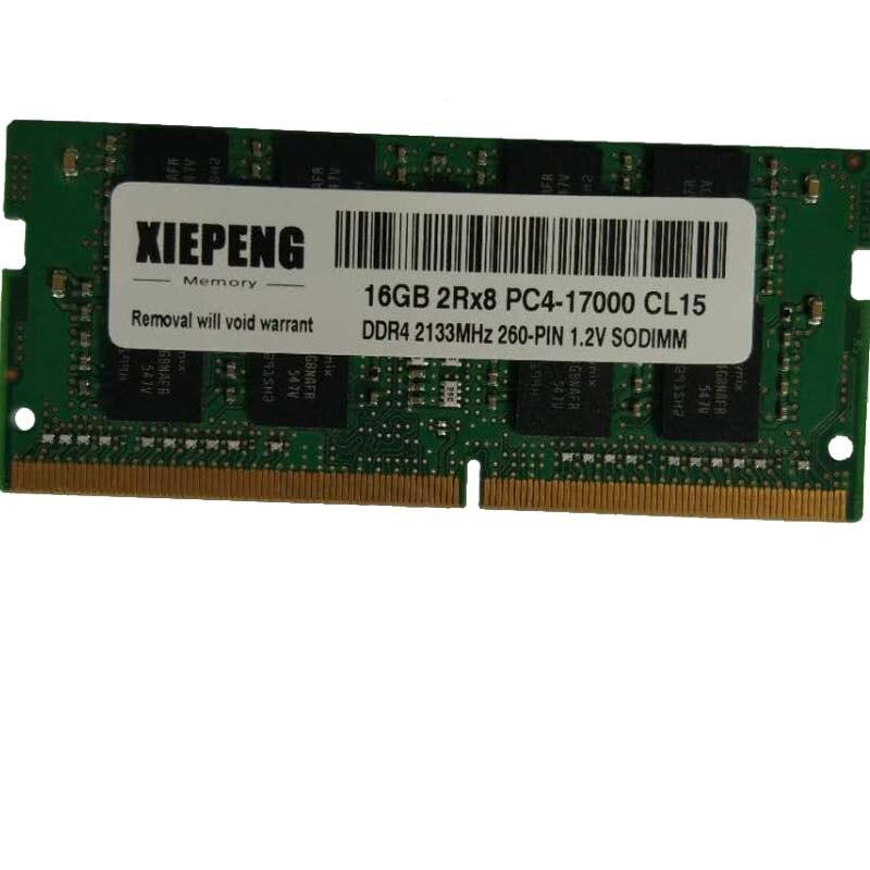 For Hynix 8GB 2RX8 PC4-17000 2133MHz DDR4-2133P 260Pin 1.2V SODIMM Laptop Memory