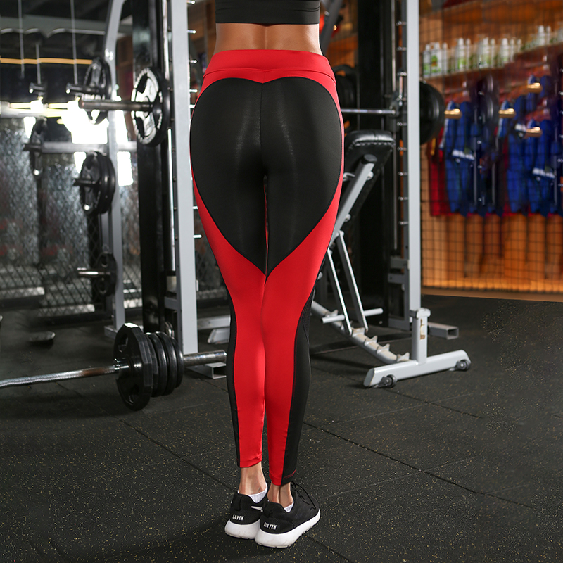 Fitness Clothing Workout Clothes For Women Push Up Legging Fitness Legging Sweatpants Female Work Out Heart Track Pants P1510y