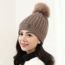 Более теплый вязание шерсть шляпа маленький поворот 2016 осенью зимы теплую шапку для женщин