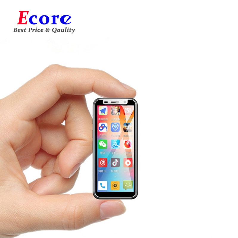 Beautiful Super Mini Smartphones Cheap Melrose 2019 Ultra Slim 3.4''2gb 8gb Android Fingerprint Id 5mp 4g Mobile Phone With Google Play Refreshing And Enriching The Saliva