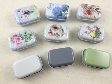 16 pcs/lot Vintage Mini Tin Box Storage Boxes Jewelry Wedding Favor Candy Box Accessories Medical Kit Free Shipping