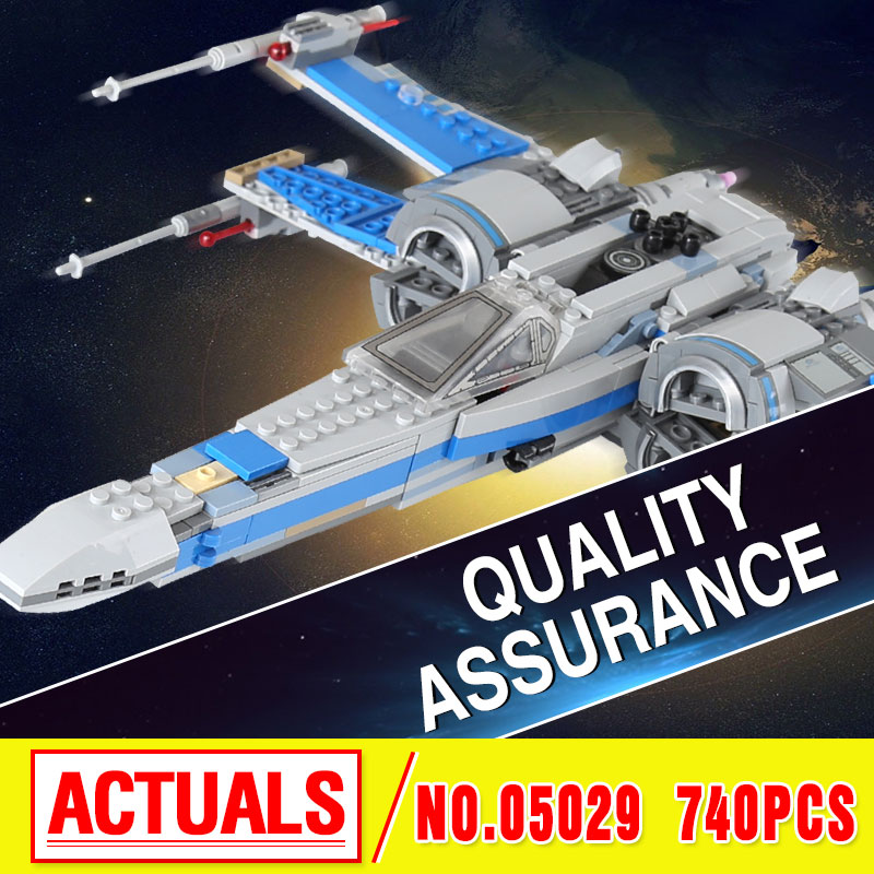 New 2016 LEPIN 05029 Star First Order Poe's X-Fighter wing building blocks X Star wing PLAN Toys For Children 75149 wars конструктор lepin star plan истребитель повстанцев u wing 679 дет 05054