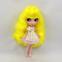 Factory Neo Blythe Doll Yellow Hair Regular Body 30cm