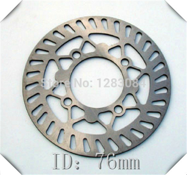 Front Brake Disc Plate ID 76mm OD 190MM for dirt bike pit bike motorcycle use front plastic number plate fender cover fairing for honda crf100 crf80 crf70 xr100 xr80 xr70 style dirt pit bike