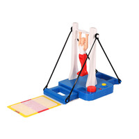 New Funny Prince Horizontal Bar Table Toy Gymnastics Game High Bar Dismount Family Interactive Toys For