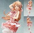 Anime espada arte online asuna más fuerte idol ver. colección PVC Figura de Colección Modelo de Juguete Muñeca de Resina Muñeca Regalos KA0179