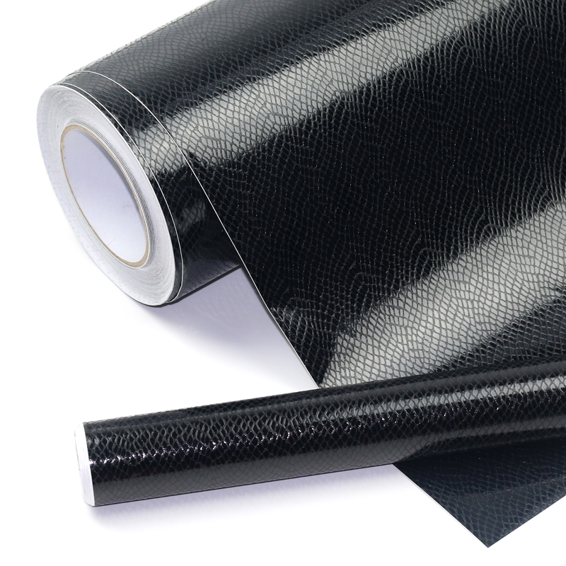 50cmX152cm Snake skin Crocodile Skin Leather Pattern Carbon Fiber Vinyl Film Automobiles Motorcycle bicycle sticker car-styling
