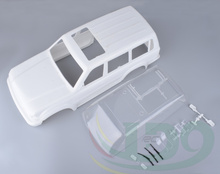 New crawler chassis Land Curiser LC80 White Colors Hard Bodies Body For Rc Crawler Sale AXIAL