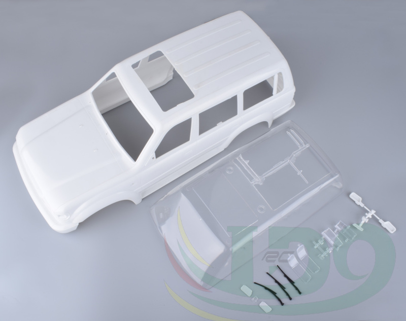 New crawler chassis Land Curiser LC80 White Colors Hard Bodies Body For font b Rc b