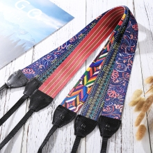 PULUZ Retro Ethnic Style Multi-color Series Shoulder Neck Strap Camera Belt for Sony ,Canon ,SLR / DSLR Cameras Universal