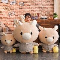 60cm Giant Hot Sale New Arrive Korean TV Korean Drama Jin Secretary Hard Cow Stuffed Plush Doll Cute Cattle Toys Baby Kids Gift