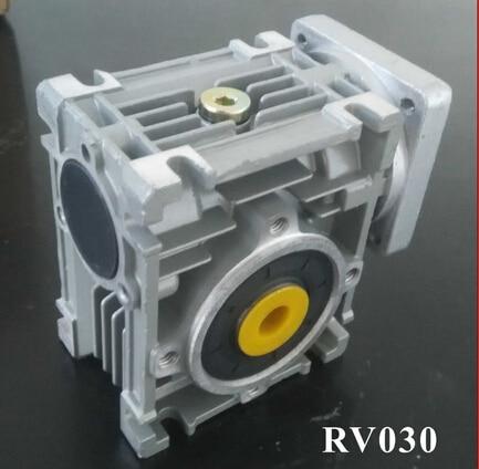 2pcs/lot 5:1 Worm Reducer RV030 11mm Input Shaft RV030 Worm Gearbox Speed Reducer for NEMA 23 Motor