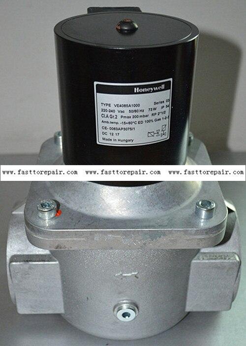 Honeywell Solenoid gas Valves VE4065A1000 2 1/2'' For burner New & Original honeywell ignition solenoid valves ve410aa1003t 3 8 for gas burner new